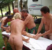 Nudist photos Swinger events