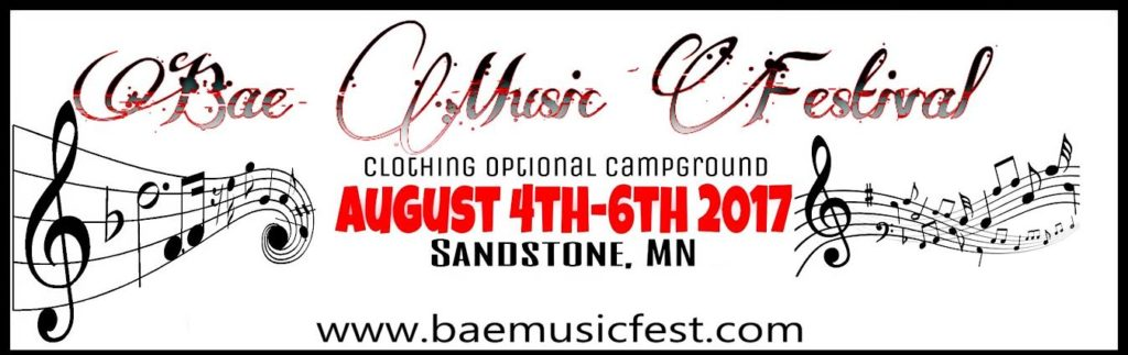 music festival, clothing optional event, 2 creeks, two creeks campground, minnesota