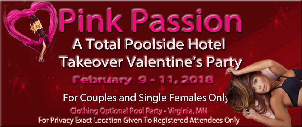 clothing optional, valentines swingers party, minnesota event